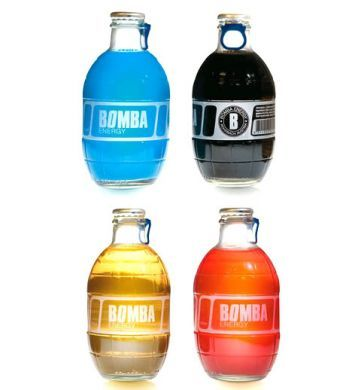 BOMBA ENERGY, colorful and unique bottle appeal to teen's ...