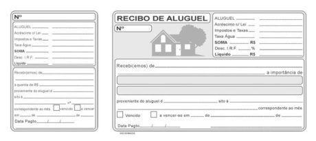 Modelo De Recibo De Aluguel Para Imprimir 15 Opcoes Recibo De