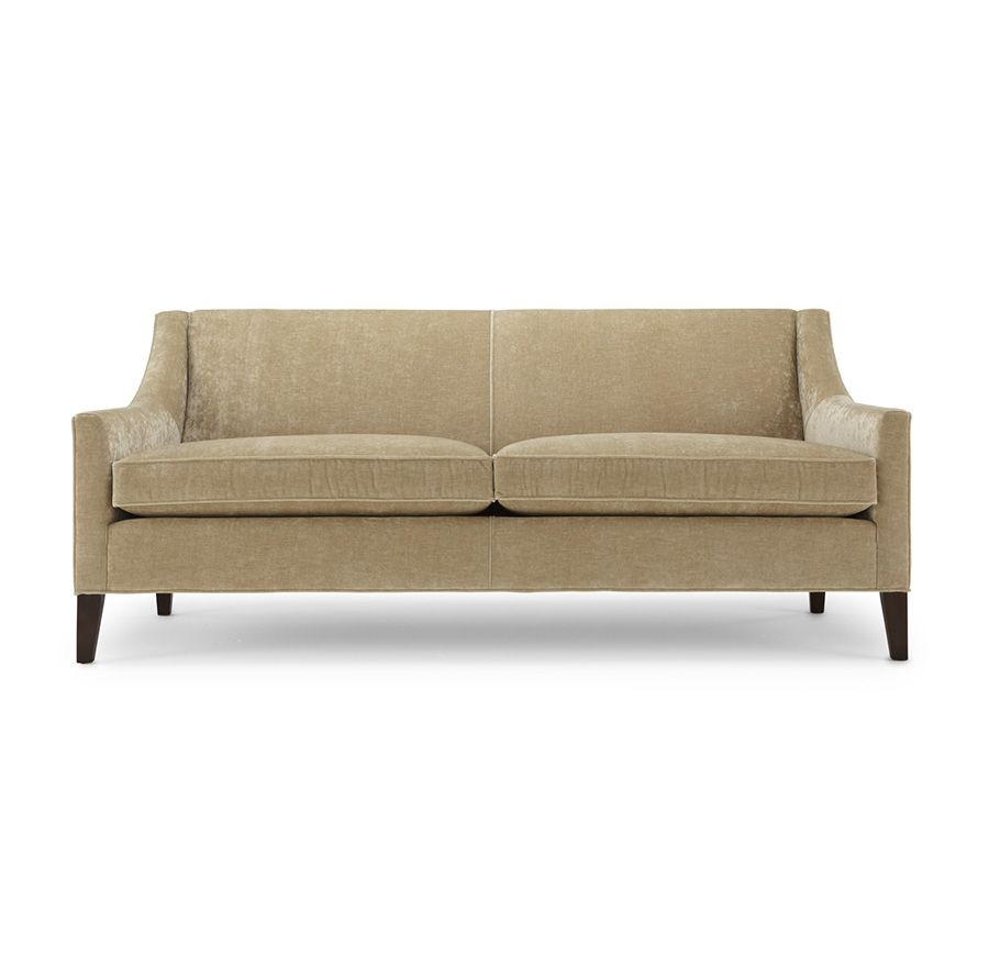 Formal Living Area This Smaller Scale Clean Line Sofa Can Go More Casual Or More Formal