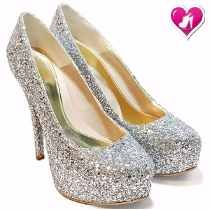 Stillettos Fiesta Glitters Modelo Princesa De Shoes Bayres