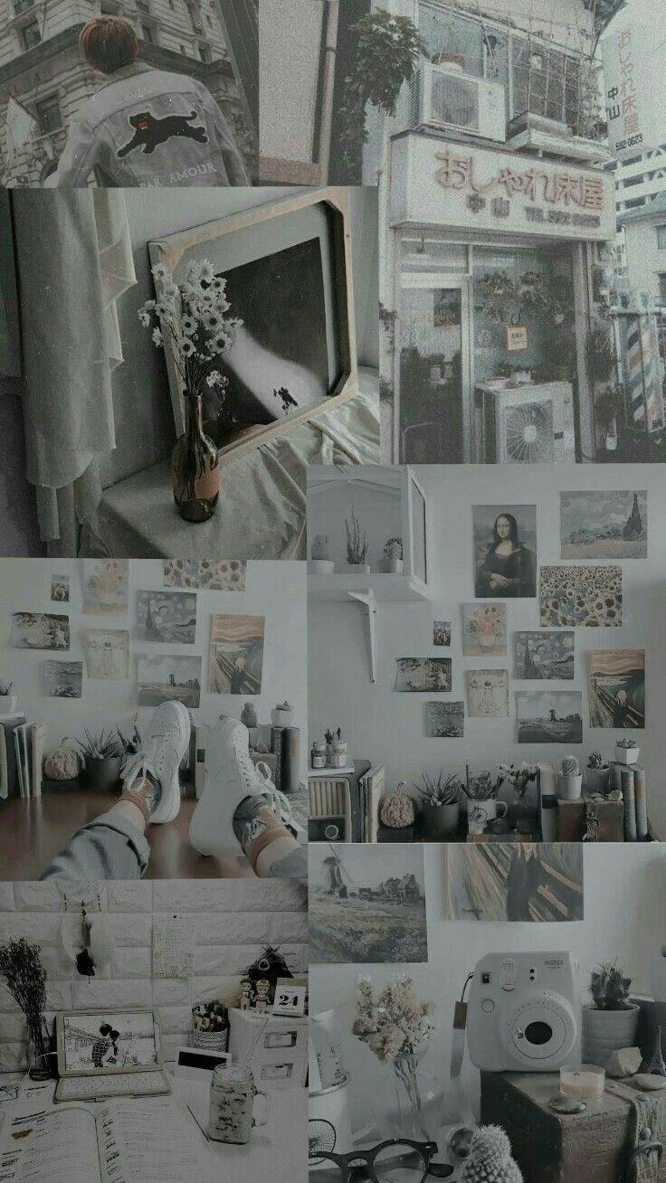 Grey Wallpaper Feeds Foto Abstrak Kertas Dinding Fotografi Abstrak