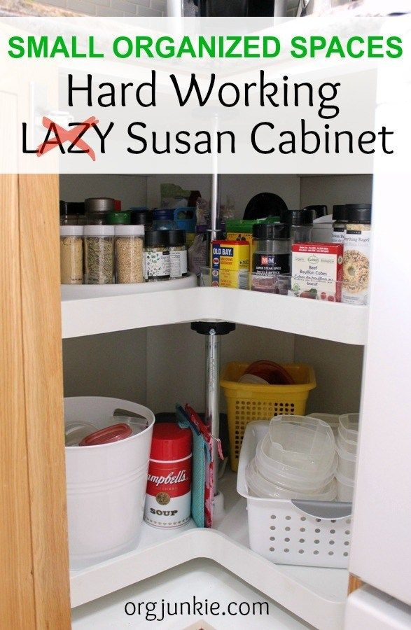 small organized spaces hard working lazy susan cabinet for spices spice organization lazy on kitchen organization lazy susan cabinet id=47629