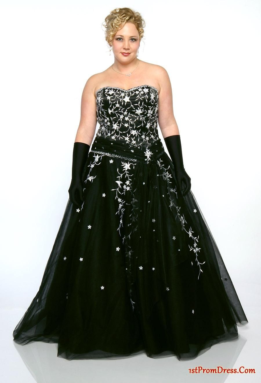 Cheap Plus Size Prom Dresses - Inexpensive ball gown sweetheart ...