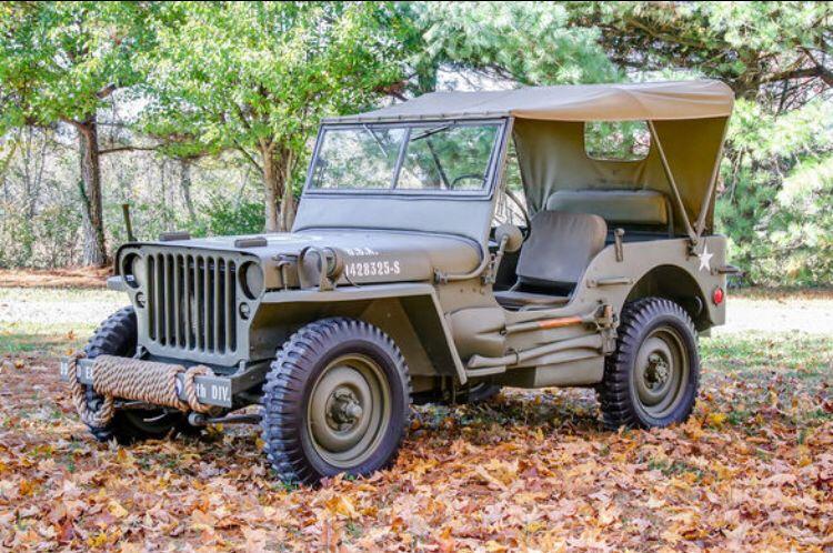 Public Auction Sale: • '43 FORD GPW WWII JEEP • Shop! - Greenbrier