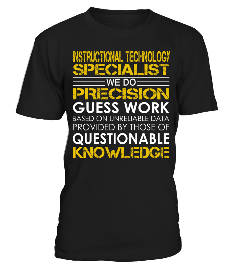 Instructional Technology Specialist We Do Precision Guess Work #InstructionalTechnologySpecialist