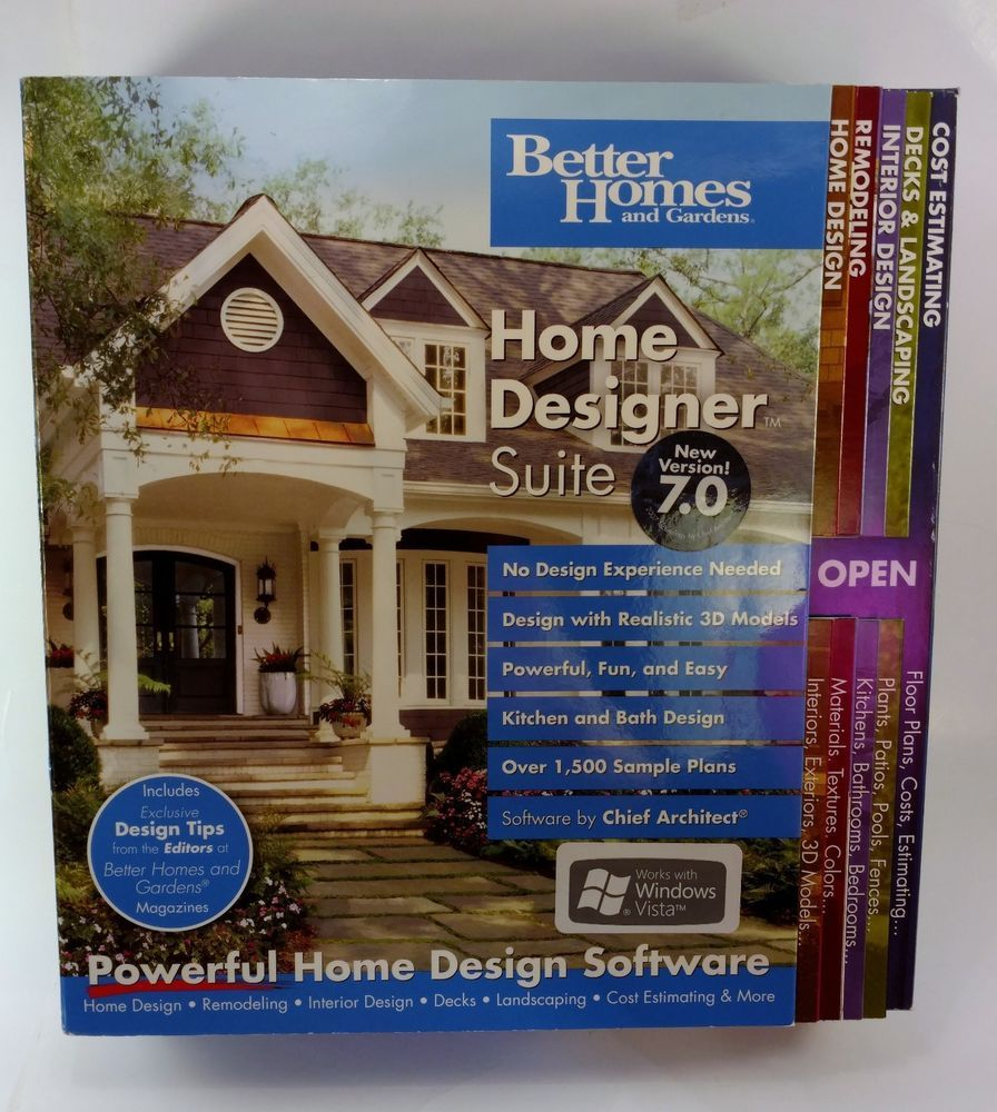 Better Homes And Gardens Home Designer Suite 7.0 [OLD VERSION ... on designer recliners, designer chairs, designer shirts, designer flats, designer gloves, designer men suits, designer cabins,