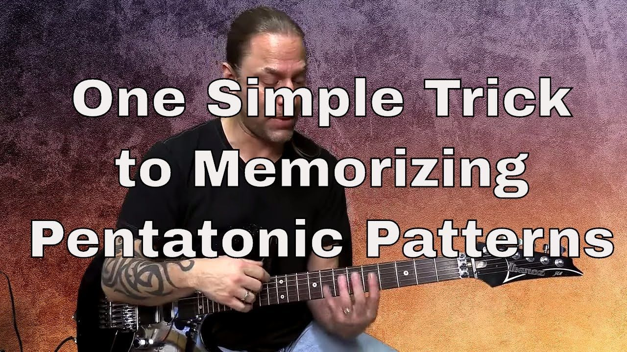 1 Weird Trick To Memorizing Pentatonic Patterns Steve Stine Guitar Zoom How To Memorize Things Learn Guitar Ovation Guitar