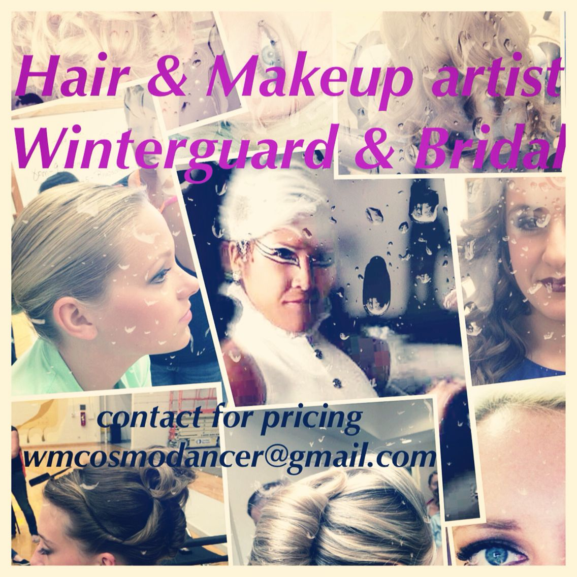 Freelance hair and makeup artist located in Indianapolis