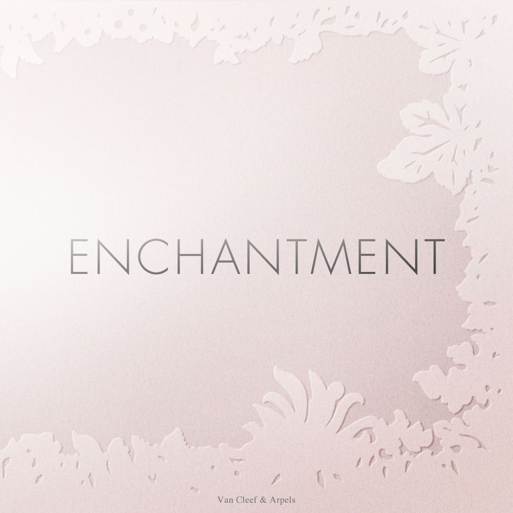 """""""An exercise in style"""" book by Van Cleef & Arpels & Gallimard - Enchantment. The enchantment is defined by: """"Wonderful thing that causes surprise, captivating the heart and the senses.""""   #AnExerciseinStyle"""