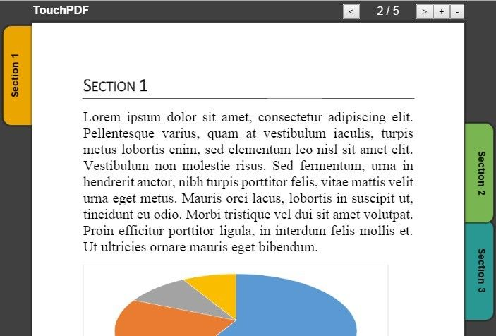 Touch-enabled jQuery Web PDF Viewer - TouchPDF | jQuery Plugins