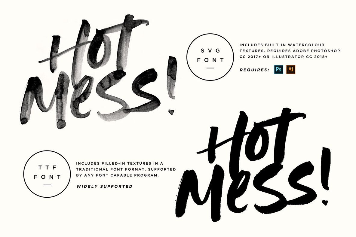 How to get more fonts for photoshop