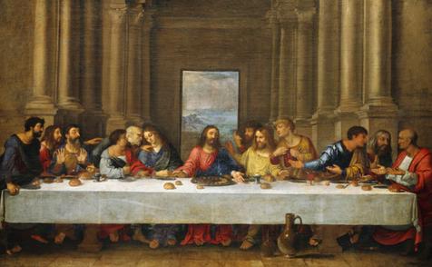 La Cene Copie Du Tableau De Leonard De Vinci Nicolas Poussin Repro Tableaux Reproduction Reproduce Penture P Leonard De Vinci Tableau De Vinci La Cene
