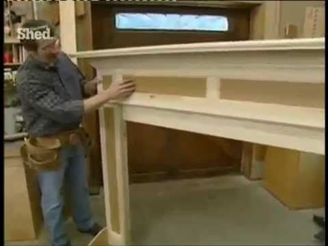 Colonial Fireplace Mantel - Part 1 - New Yankee Workshop Norm ...