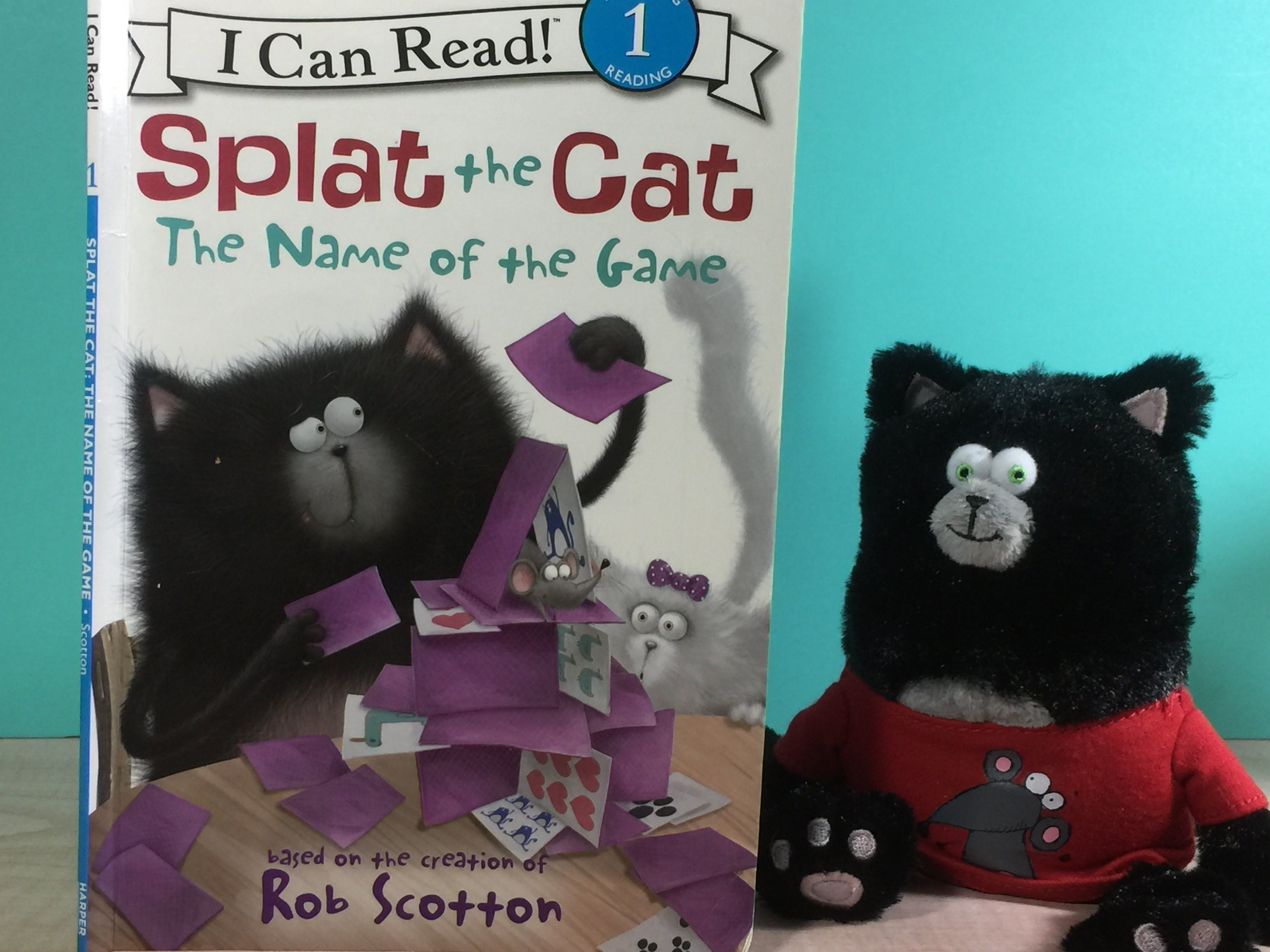 Splat the cat the name of the game by rob scotton