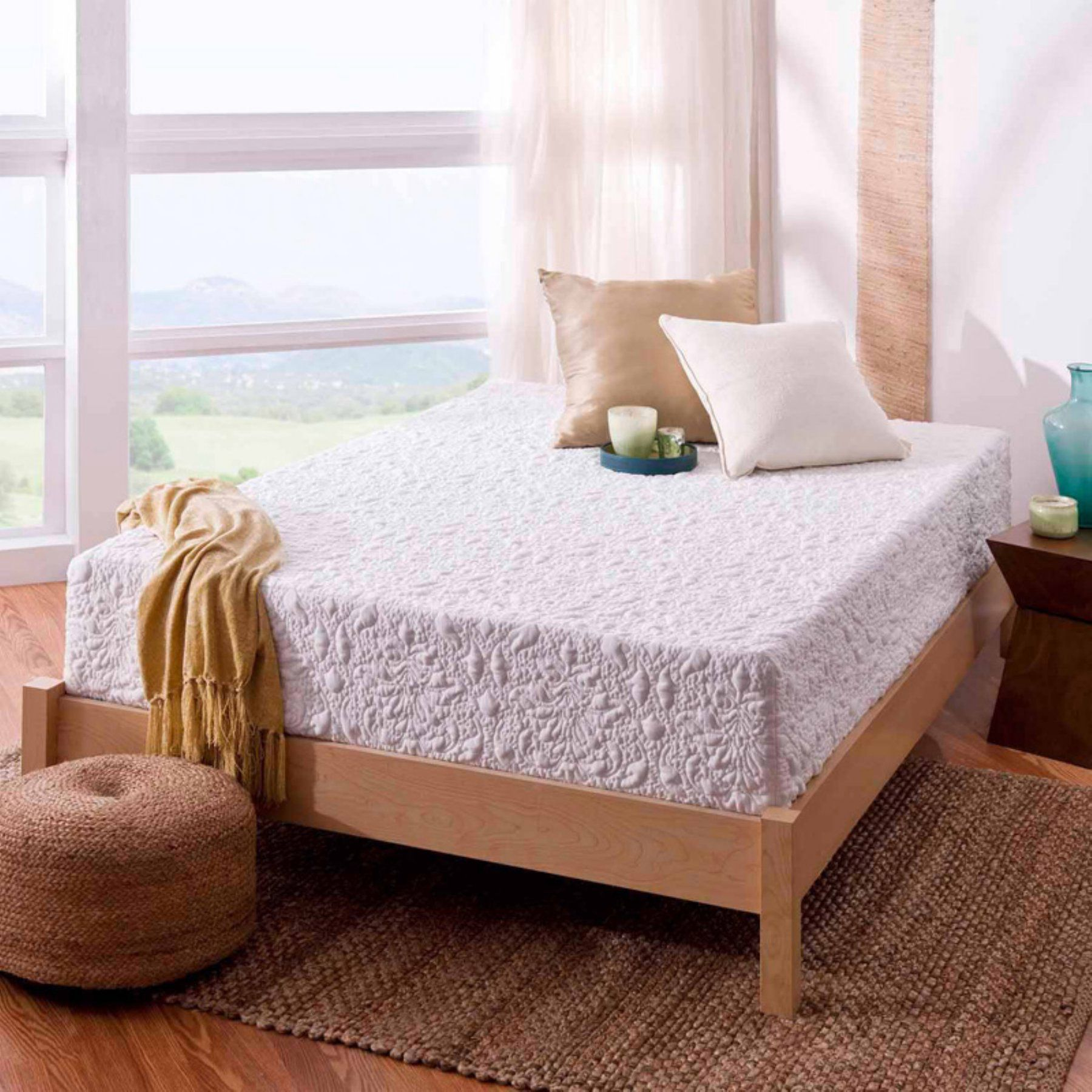 Spa Sensations 12 in. Theratouch Memory Foam Mattress ...