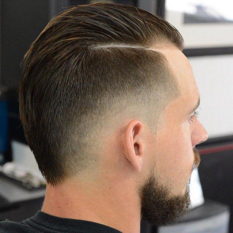 undercut seitenscheitel stylen übergang mittel #hairstyles