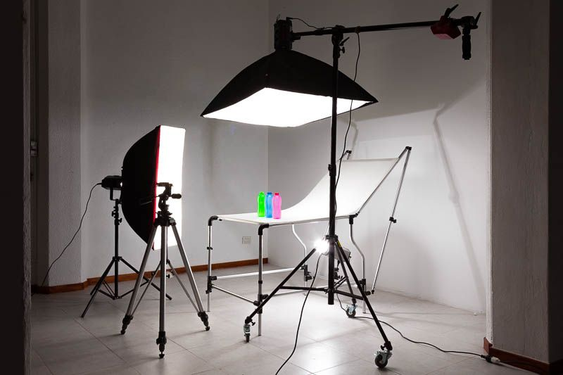 Mesa de productos para fotografia fotografia - Articulos iluminacion ...