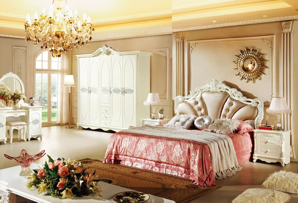 French Luxury Bedding Ensembles | Luxury Crown Prince Bed ...