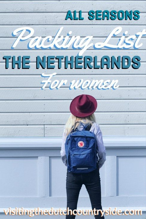 Photo of Packing list The Netherlands & Amsterdam for women: Recommended by a local – Visiting The Dutch Countryside