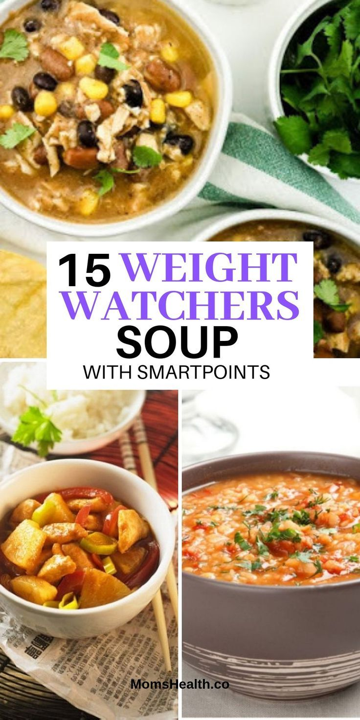 Weight Watchers Soup Chicken & Vegetables - Freestyle Soup Recipes Weight Watchers Soup Chicken & Vegetables - Freestyle Soup Recipes