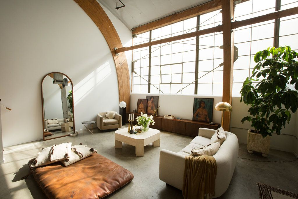 Sally Breer, who has clients like Zooey Deschanel, takes T on a tour of her own imaginative interiors in Los Angeles.