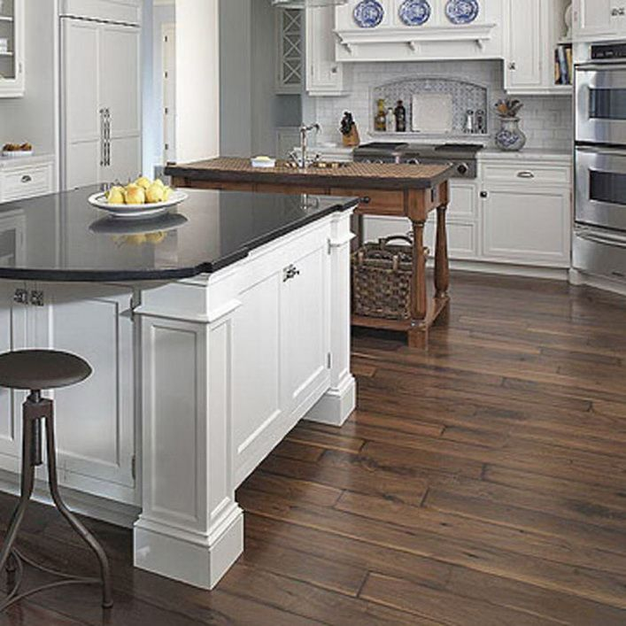 Kitchen Cabinet And Floor Combination