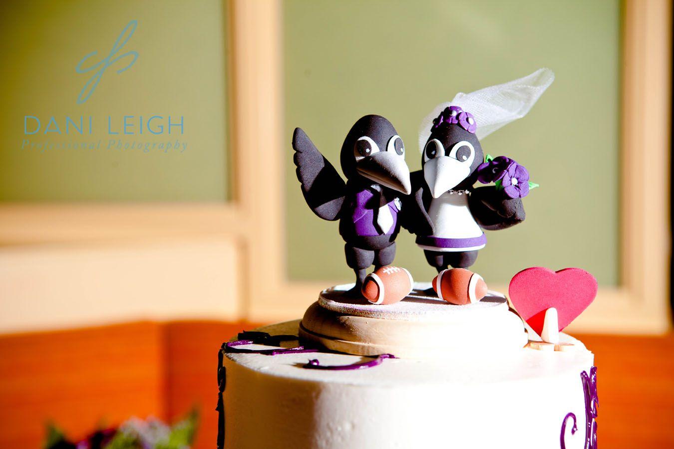 Ravens themed cake topper! | let them eat...CAKE | Pinterest ...