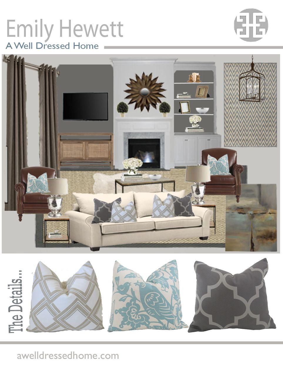 Design Rooms Online Girouard Living Room Online Design Board By Emily Hewett Of A Well