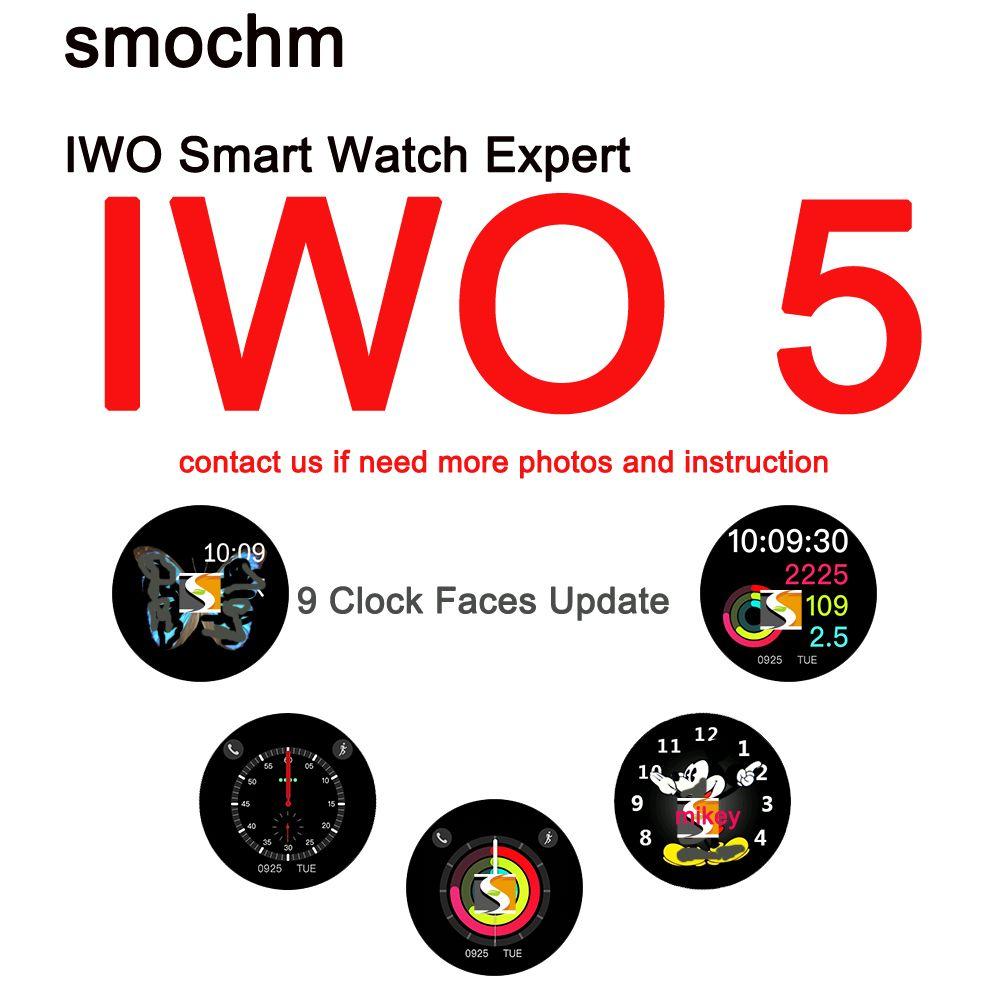 Smochm IWO 5 Bluetooth Smart Watch Wearable Watch