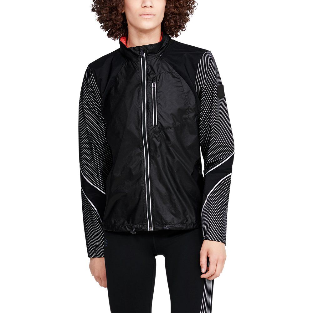 Photo of Under Armor Womens Run Dead End Wind Reflect – Black XS