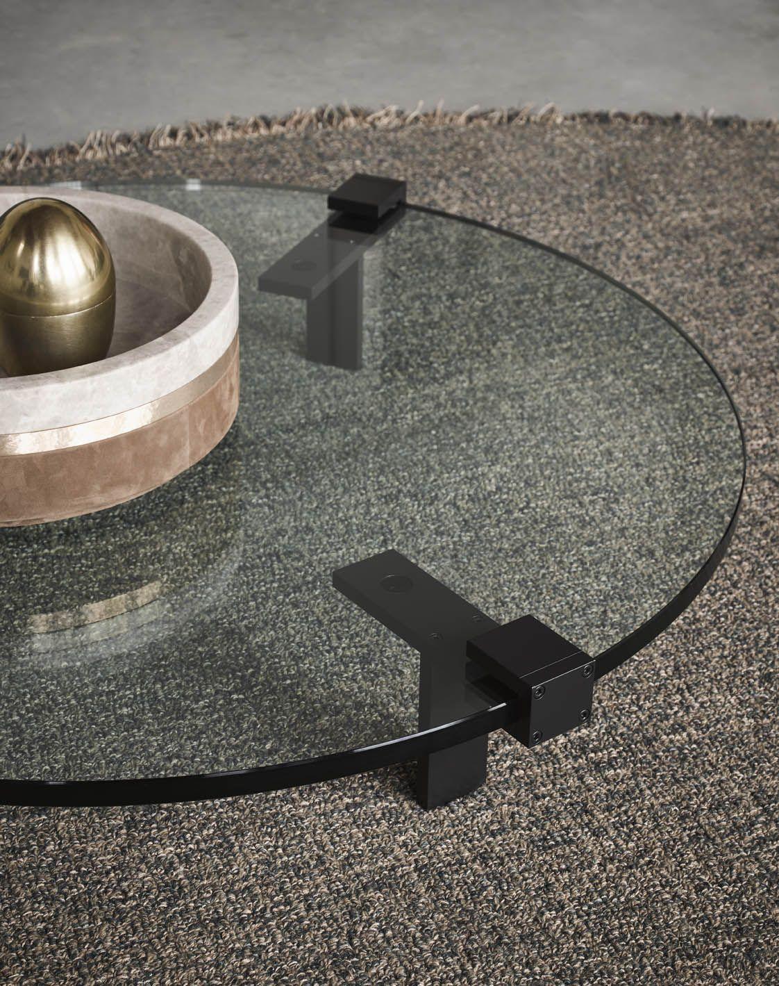 Salontafel Zwart Glas Design.Gelderland Glazen Salontafel T Table 7920 Design Bart Vos De Zwart