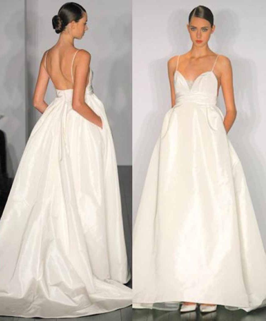 Wedding Gown With Pockets: Weiweis Blog: Wedding Dress