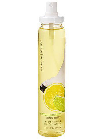Essence Of Beauty Citrus And Coconut Body Spray Body Spray