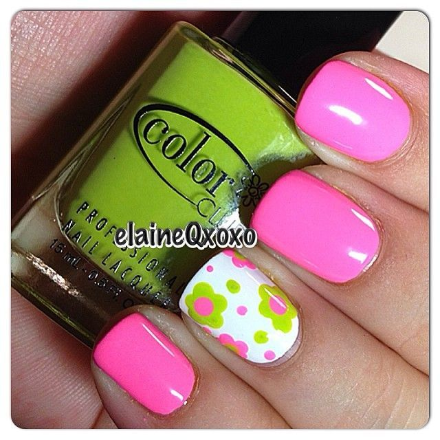 Instagram photo by elaineqxoxo #nail #nails #nailart so spring ...