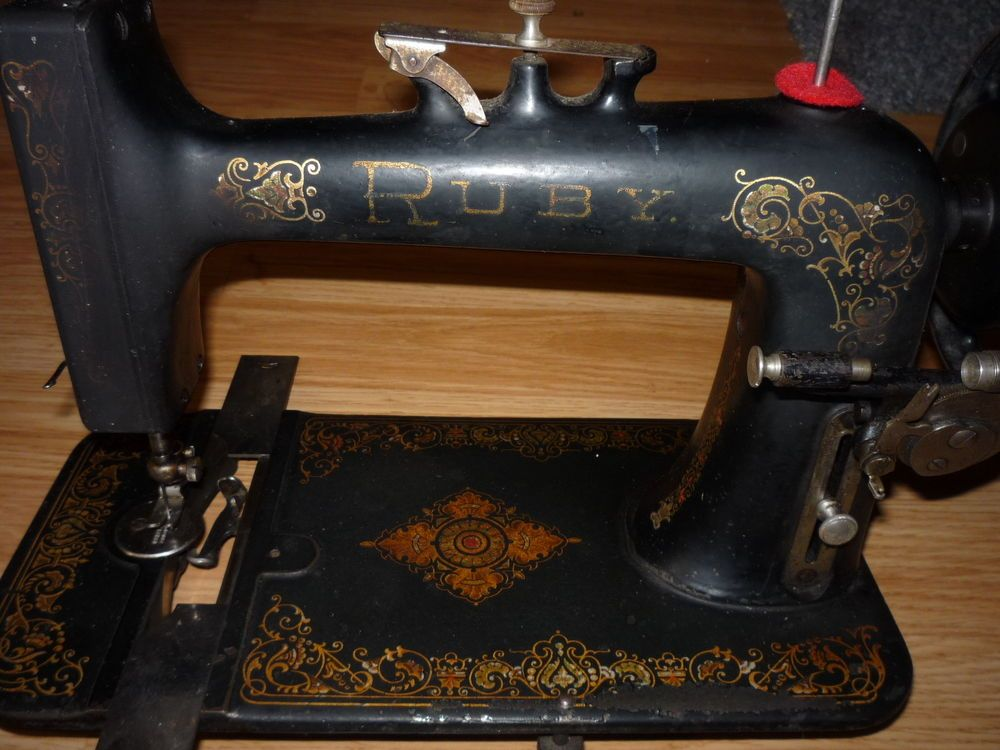 Antique Ruby New Home Treadle Sewing Machine 40s Just Sewing Classy Antique New Home Treadle Sewing Machine Value