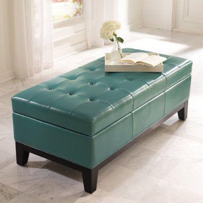 Brilliant Lauren Storage Ottoman Living Room Furniture Leather Ncnpc Chair Design For Home Ncnpcorg