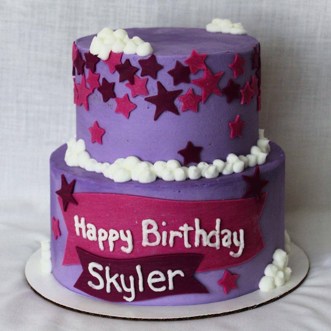 Twilight Sparkle Themed Birthday Cake Missing The Pony On