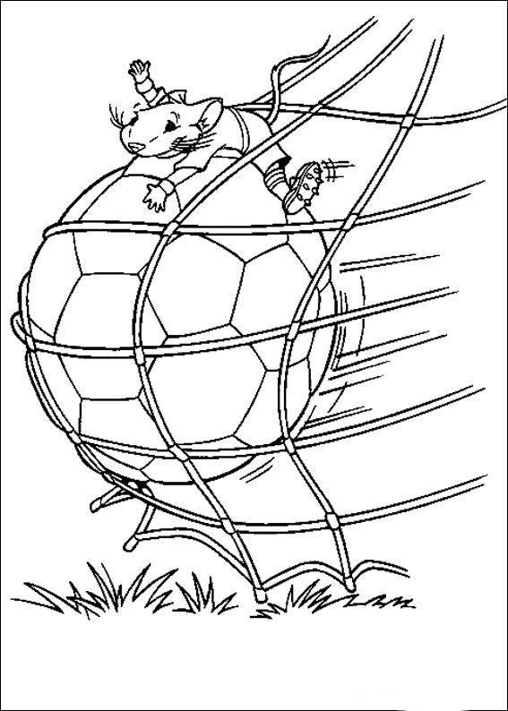 Desenhos para colorir Stuart Little 11 | Time toooo Relax | Pinterest