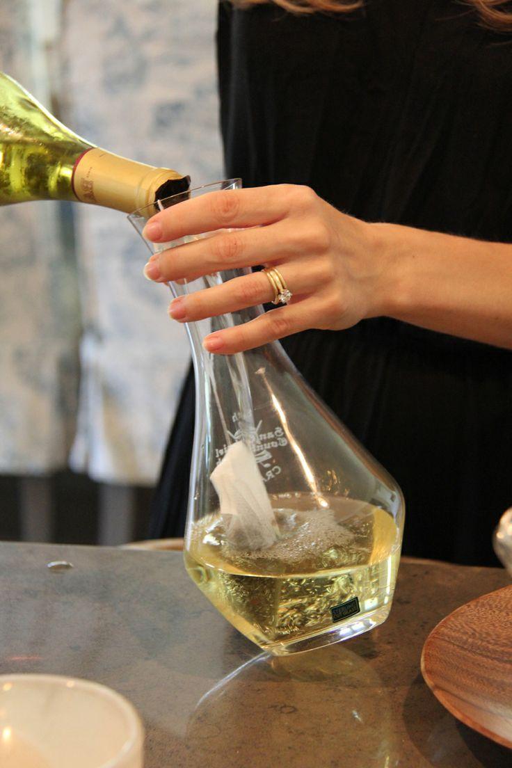 California Tea Party teainfused Chardonnay. Capital
