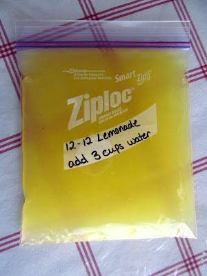 Think, Love, Sleep, Dine: How to Make Homemade Lemonade Concentrate #lemonade