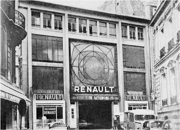 Auguste perret garage 51 rue de ponthieu 1905 for Garage renault saint pierre du perray