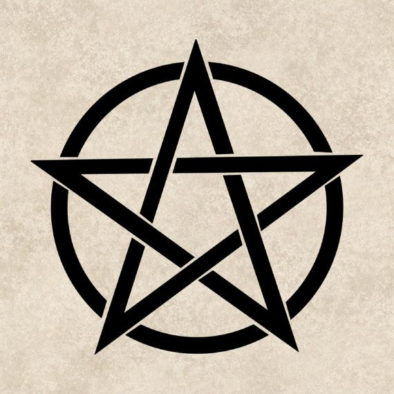 Pentagram tattoo vorlage