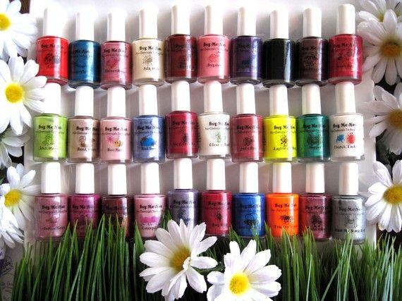 Bug Eyed - Natural Non-toxic Nail Polish   Natural, Chemical free ...