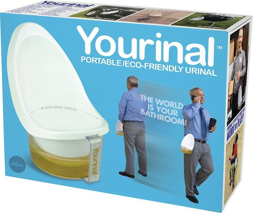 Portable/Eco-Friendly Urinal | Joke gifts, Funny joke ...