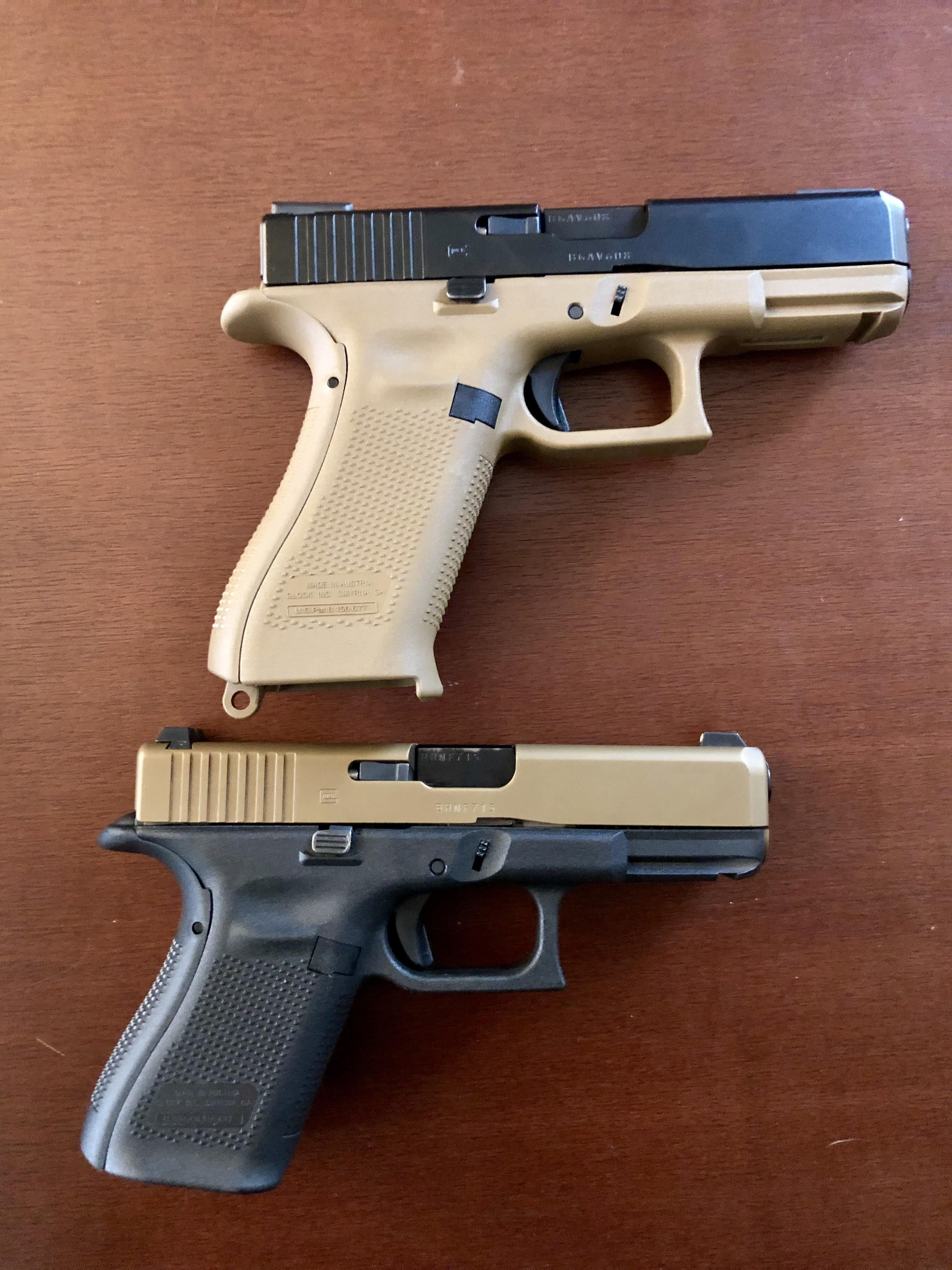 Swapped slides with a Gen 5 Glock 19 and a 19X  kinda wish they