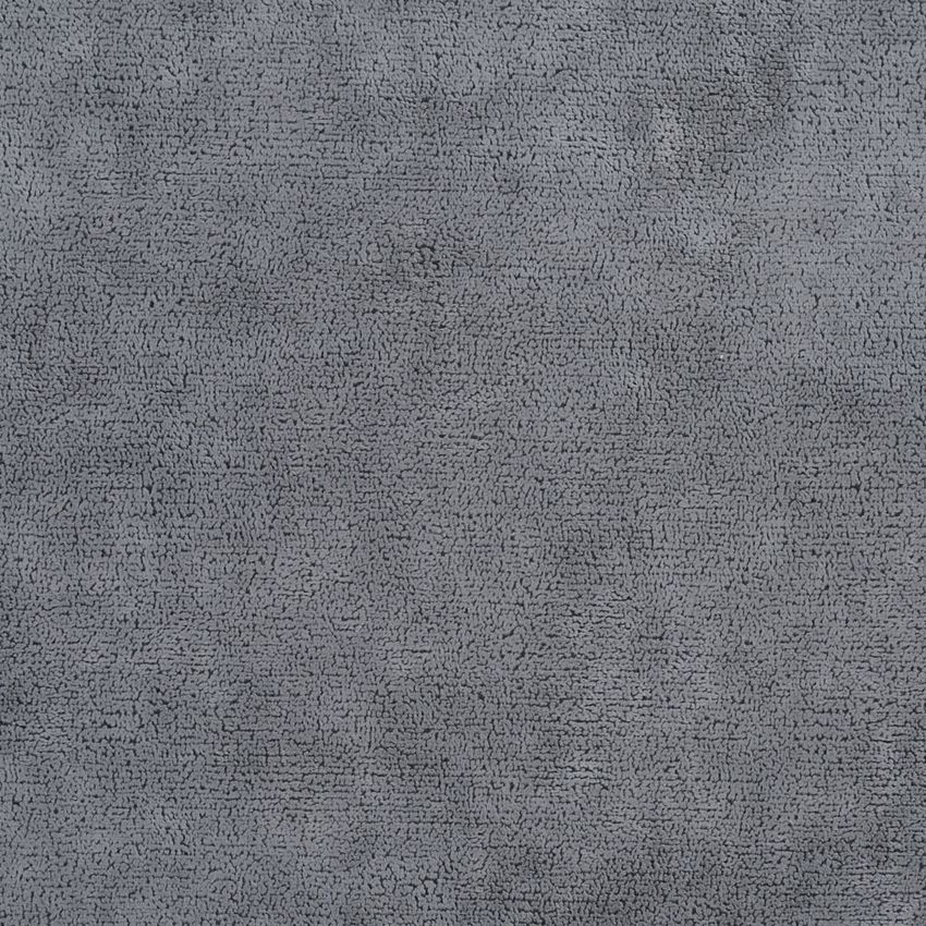 Graphite Etch Gray Plain Microfiber Drapery And Upholstery Fabric