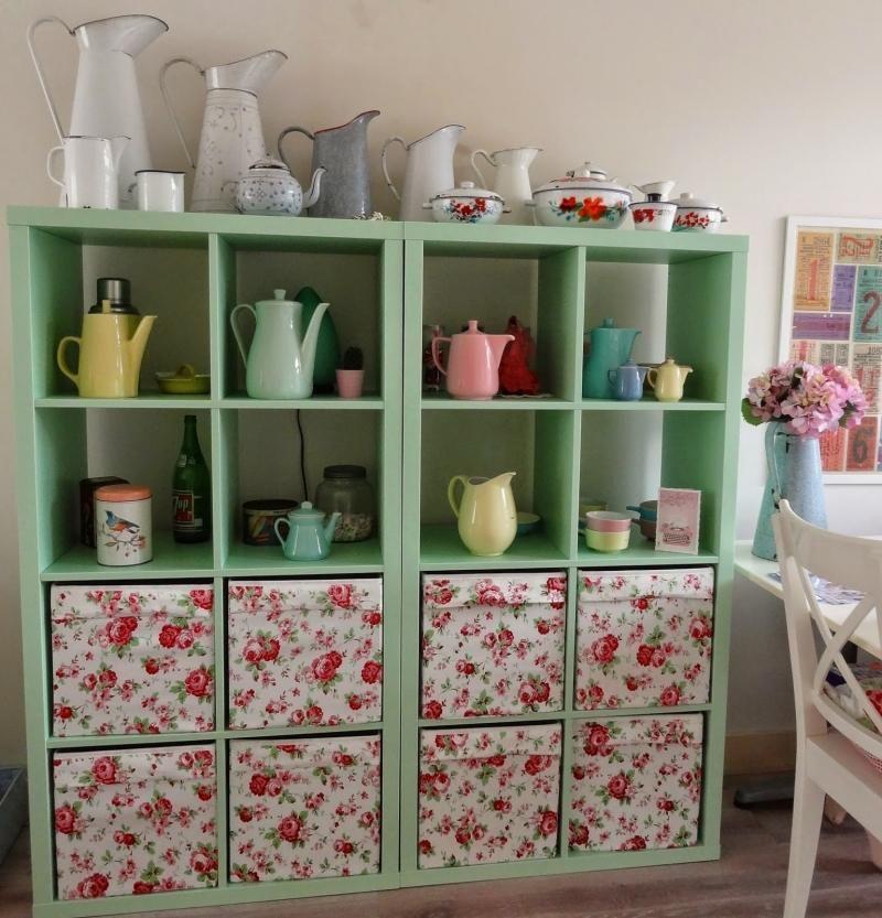 Ikea Expedit Customisation with TV Stand Downlighting Home decor - regale für die küche