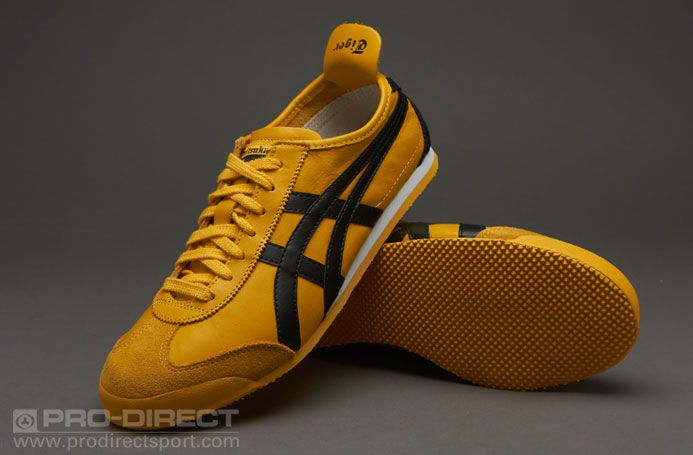 official photos be908 c5f88 Onitsuka Tiger Mexico 66 - Yellow / Black in 2019 | Harimau ...