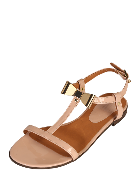 Billi Bi Lack Sandale Easy Nude Altrosa Frauenschuhe Shoes For