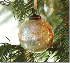 For the Love of Paper: 12 Trendy Days of Christmas Day One: Mercury Glass